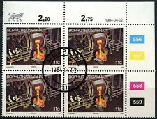 Bophuthatswana 1984-1994 SG#134 11c Industries Defninitive Cto Used Block#D77398
