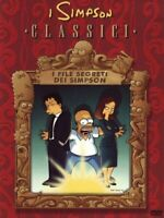 DVD THE SIMPSONS CARTOON CLASSICI-I FILE SEGRETI DEI SIMPSON x files,homer,alien