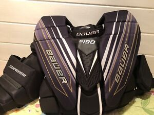 Bauer s190 series Supreme hockey goalie protector never worn INT L