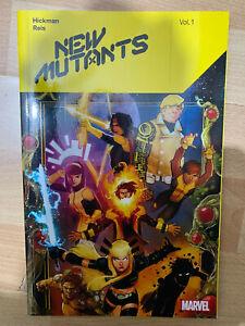 New Mutants 1 Marvel Comics Paperback tpb Graphic Novel Hickman Reis