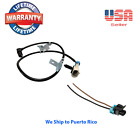 ABS Wheel Speed Sensor Front Left or Right & 1 Connector Fit Chevrolet GMC Isuzu