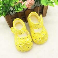 Flower Kids Girl Bow Embroidery Baby Crib Shoes Casual Princess Shoes Chaussures