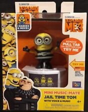 Despicable Me 3 Mini Music-Mate Jail Time Tom Minion New Thinkway Toys