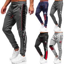 Trainingshose Hose Laufhose Sporthose Jogger Men Slim Fit Herren Mix BOLF Motiv