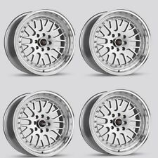 Drag Wheels Dr-58 16x8.25 4x114 +25 for 240sx s13 Sentra Altima step lip Rims