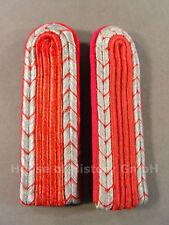 2219 Feuerwehr, Paar Schulterstücke für Feuerwehrmänner der Feuerschutzpolizei