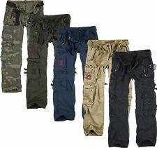 SURPLUS Raw Vintage Cargohose Royal Traveler Trousers Cargo Hose Pants Army