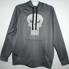 MARVEL THE PUNISHER SWEAT SHIRT HOODIE SWEATER EXTRA LARGE(46-48) MEN GRAY XL