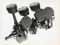 Opel ECOTEC V6 Motor Pressefoto 1992 21,5x16,5 cm press photo Auto PKWs Autofoto