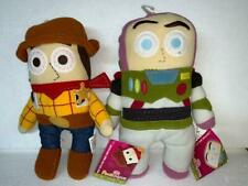 """Disney Toy Story BUZZ & WOODY 12"""" Pook A Looz Plush Set of 2- New with Tags"""