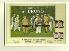 ad3826 - Ogdens - St Bruno Flake Tabacco -  Cigarettes -  Modern Advert Postcard