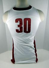 2012-13 Alabama Crimson Tide #30 Game Used White Jersey Bama00224