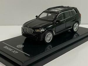 BMW X7 Black LHD 1:64 Scale Paragon 55191L