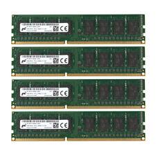 Micron 32GB 4x 8GB DDR3 1600Mhz PC3-12800 240pin Desktop Memory RAM For AMD