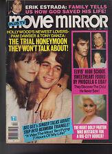 Movie Mirror Magazine Elvis Presley Tony Danza Dolly Parton December 1979