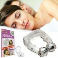 Silicone Magnetic Anti Snore Fermata Russare Naso Clip Sleep Vassoio Dormire Aid