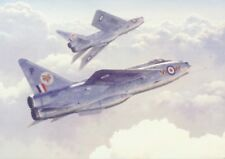 English Electric Lightning 74 Escuadrón Avión Jet Avión tarjeta de cumpleaños