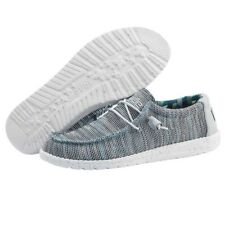 Hey Dude Wally Sox Ice Gray Men's Shoes Comfortable Ligthweight SlipOn Casual