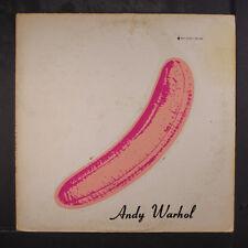VELVET UNDERGROUND & NICO: The Velvet Underground & Nico LP (torso cover, peele