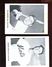1962 1st Season New York Mets Jay Publishing Picture Pack Photo Complete Set