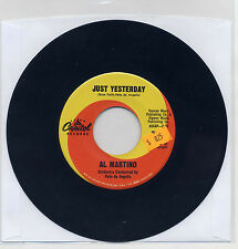 Al Martino Just Yesterday By The River Of Roses 45 Capitol Records 5702