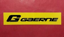 GAERNE Shoes Italy Sticker Decal Cycling Road Mountain Bike CX Fixie Track Frame