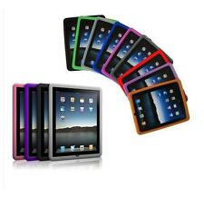 CUSTODIA CASE PER APPLE iPad1 COVER IN SILICONE TRASPARENTE 32-64GB  + PELLICOLA