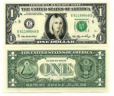 MADONNA - VRAI BILLET de 1 DOLLAR US ! A VOIR ! COLLECTION POP MUSIQUE STAR USA