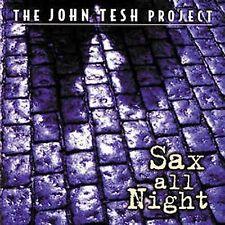 JOHN TESH - Sax All Night - (CD, Oct-1997, Decca)-NEW