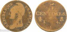 Directoire, 5 centimes Dupré, petit module, Limoges, An 4, RARE - 6
