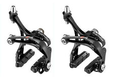 Campagnolo 309g Record Skeleton Bike Black Brakeset Dual Pivot Front and Rear