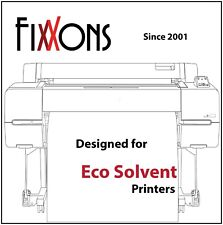 "Fixxons Crystal Clear Display Film for Roland Eco Solvent Printers 24"" x 100'"
