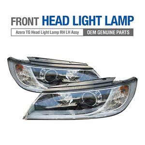 OEM Genuine Parts Front Head Light Lamp LH RH Assembly for HYUNDAI 2010-11 Azera