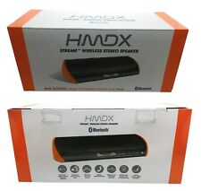 HMDX Stream Wireless Stereo Bluetooth Speaker Big Sound - Black Orange. HX-P420