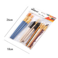 25x new Artist Painting Brushes Set Paint Acrylic Oil Watercolour Art Craft mode