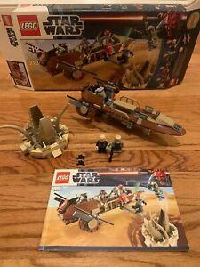 LEGO Star Wars Desert Skiff (9496), 99% Complete w/ box & instructions Boba Fett