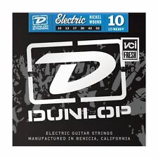 Dunlop 10-52 Nickel Light Heavy Electric Guitar Strings Made in USA DEN1052