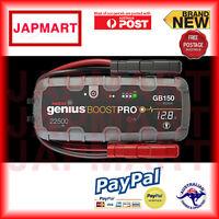 NOCO Genius Boost GB150 Jump Starter Jumper Pack Portable 12v 4000 amp Lithium