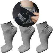 3 Pairs Lot Women Performance Ultralight Thinner Inner Cotton Toe Sock Liner