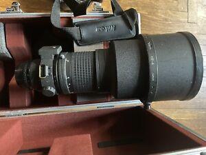 【AS IS】 Nikon AF ED Nikkor 300mm F/2.8 Manual Mode Not Working