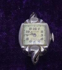 Ladies 14Kg Watch Vintage Waltham 19 Jewel