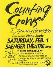 COUNTING CROWS FIONA APPLE NEW ORLEANS 1997 GIG POSTER