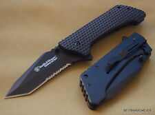 SMITH & WESSON EXTREME OPS TACTICAL FOLDING KNIFE 5.5 INCH CLOSED WITH CLIP