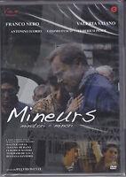 Dvd **MINEURS ~ MINATORI MINORI** con Franco Nero nuovo 2007