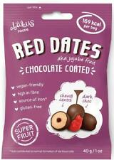Abakus Foods Red dates (Jujube) enrobées de chocolat 40 g