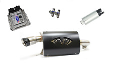 Evolution Powersports Evo Stage 5 ECU Flash Black Magnum Exhaust RZR XP TURBO