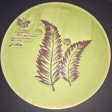 "Pottery Charger En Franco Guadalajara Pottery Tray Mid Century Modern 15.5"" Dia."