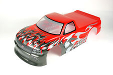 1/10 Painted RC Pickup Truck Body Shell A029 Red
