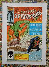 AMAZING SPIDER-MAN #277 - JUN 1986 - DAREDEVIL APPEARANCE! - VFN- (7.5)