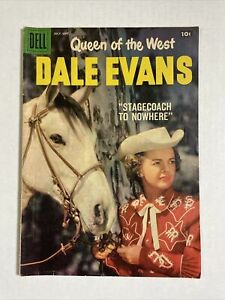 Dale Evans 20 VG 1956 Dell comic photo cover